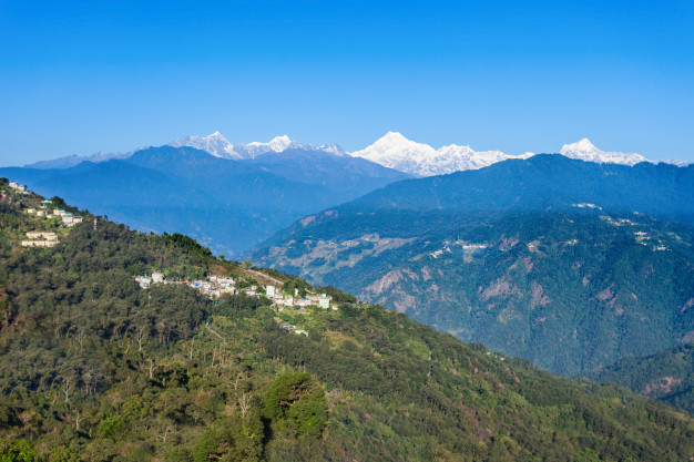 Kanchenjunga Mountain: