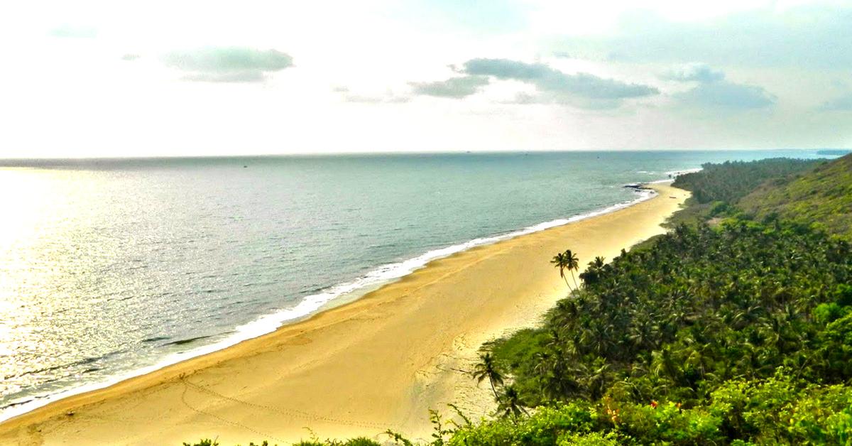 Beaches on east coast